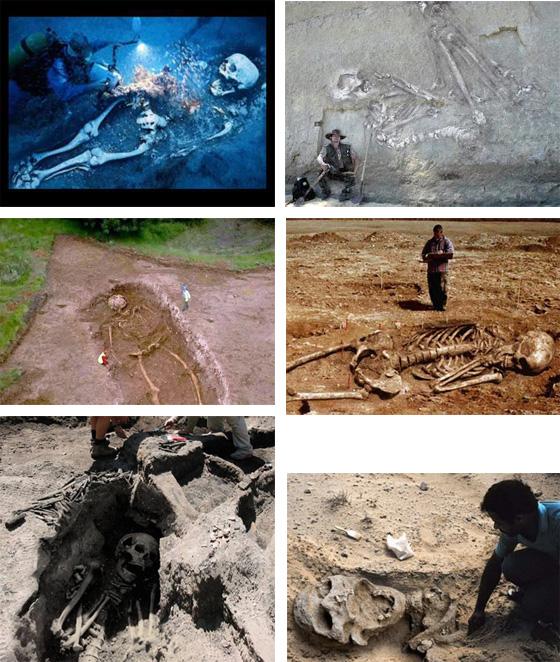 Skelette, die es nicht geben dürfte