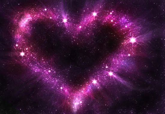 HEART Cosmic Radiant Rose Heart