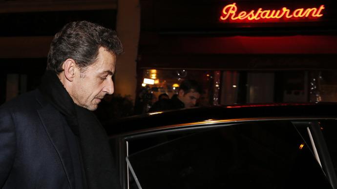 Früherer Französischer President Nicolas Sarkozy (AFP Photo)