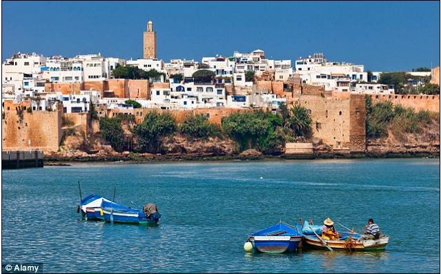 wut in marokko nachdem der k nig einen spanischen. Black Bedroom Furniture Sets. Home Design Ideas
