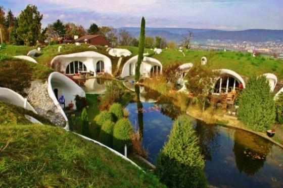 Vetscharchitektur-Earthhouse