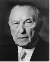 Adenauer's friendly call / Adenauers Freundschaftsbesuch