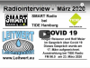 Radiointerview Covid 19 bei Smart Radio 23. März 2020 Tide Radio
