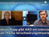 Andreas Popp gibt ARD ein Interview zum Thema Verschwörungstheorien
