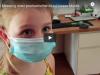 CO2 Messung unter provisorischer Mund Nasen Maske beiVolksschulkind
