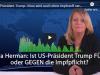US-Präsident Trump: Virus wird auch ohne Impfstoffverschwinden