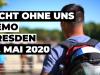 Anti-Corona Demo – Nicht ohne Uns – Dresden – 16.5.2020#NichtOhneUns