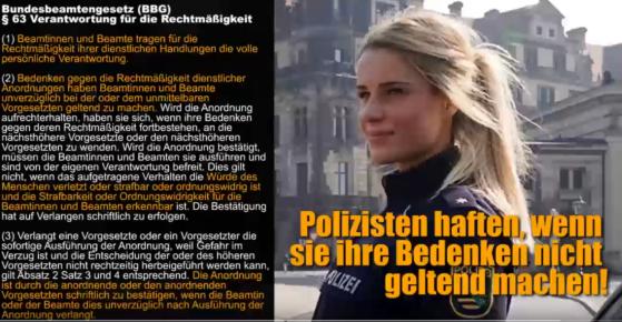Polizisten haften persönlich