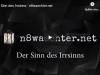 Der Sinn des Irrsinns –n8waechter.net