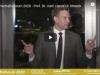 Wirtschaftsforum 2020 – Prof. Dr. med. Hendrick Streeck spricht frei über das Leben mitCorona